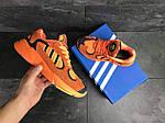 Мужские кроссовки Adidas Yung (оранжевые), фото 5