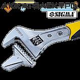 Ключ разводной 200мм, 0-30мм CrV (TPR) Sigma (4100921), фото 2