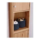 IKEA НОРДРЭНА Набор корзин,2 штуки, серый, фото 2