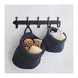 IKEA НОРДРЭНА Набор корзин,2 штуки, серый, фото 3