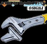 Ключ разводной 250мм, 0-35мм CrV (TPR) Sigma (4100931), фото 2