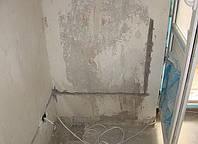 Вырезка штробы под электрику (бетон)