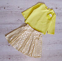 Детский костюм юбка+блузка р.140,146 Орнелла