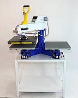 Полуавтомат-термопресс двухплитный SСHULZE Swing S DUO 40смх50см
