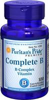 Комплекс витаминов группы В (100 табл.) Puritan's Pride