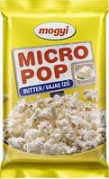Попкорн Mikro Pop Mogui 100g Соль, Масло, Сыр.