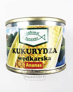 """Прикормка кукуруза со вкусом ананаса""""Fishing Forever"""""""