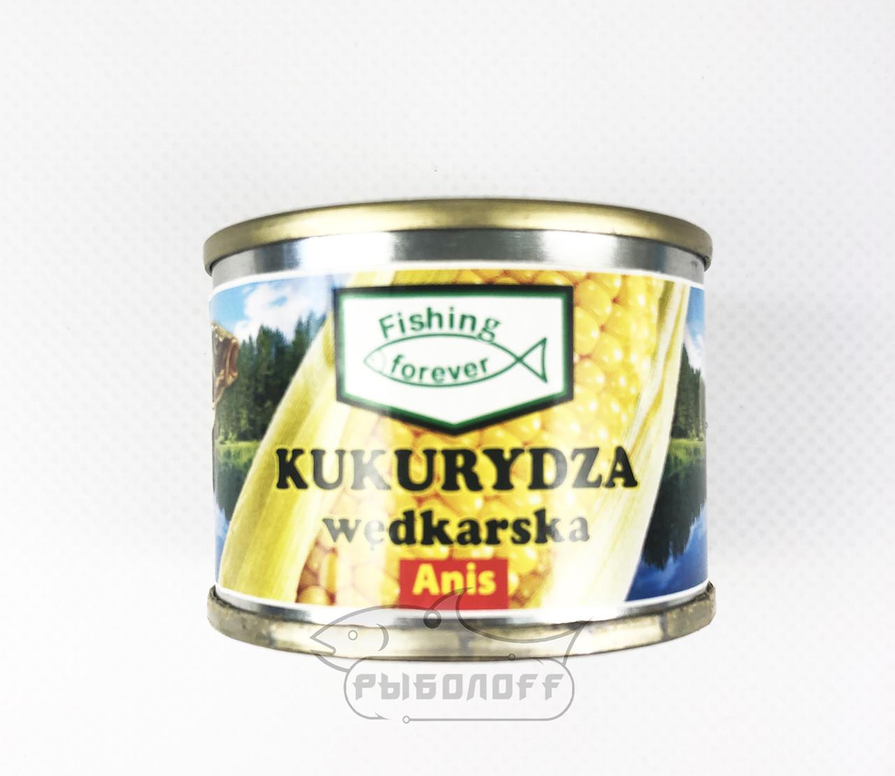 "Прикормка кукуруза со вкусом аниса""Fishing Forever"""