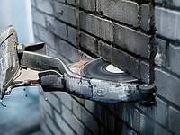 Вырезка штробы под электрику (кирпич)