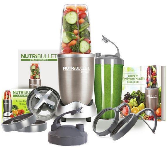 Кухонный комбайн NutriBullet 900W Блендер (экстрактор питательных веществ Нутрибуллет)