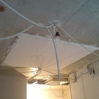 Протяжка провода в гофру с монтажом