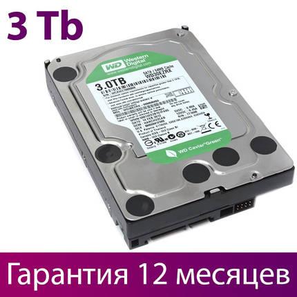 """Жорсткий диск для комп'ютера 3.5"""" 3 Тб/Tb Western Digital Green, SATA3, 64Mb (WD30EZRX), вінчестер hdd, фото 2"""