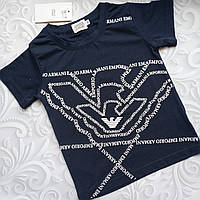 Летняя  детская футболка Armani