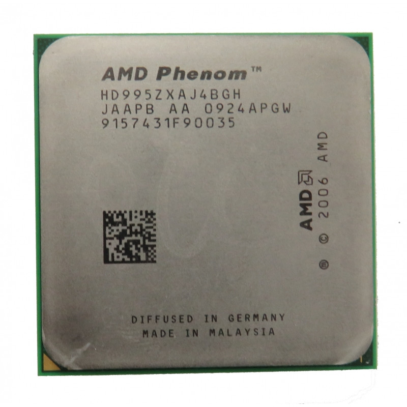 CАМЫЙ ТОПОВЫЙ AM2+,AM2 Процессор AMD 4 ЯДРА Phenom X4 9950 Black Edition- HD995ZXAJ4BGH ( 4 по 2,6Ghz КАЖДОЕ )