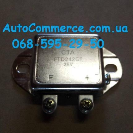 Реле зарядки FTD242CF-28V Foton, Jac, Faw, ФАВ регулятор напряжения, фото 2