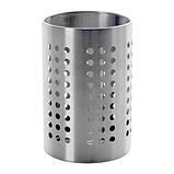 IKEA ОРДНИНГ Сушилка для стол приборов, нержавеющая сталь, 18 см, фото 3