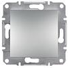 Кнопка самозажимные контакты Алюминий Schneider Asfora plus (EPH0700161)
