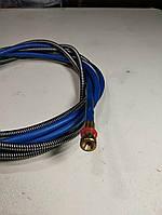 Спіраль подающаа, синя, для дроту 0,8 - 1,0 (3,4 м, для пальників 3 метра довжиною), фото 1