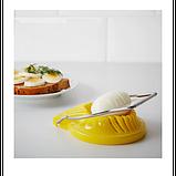 IKEA СЛЭТ Яйцерезка, желтая, фото 2