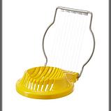 IKEA СЛЭТ Яйцерезка, желтая, фото 3