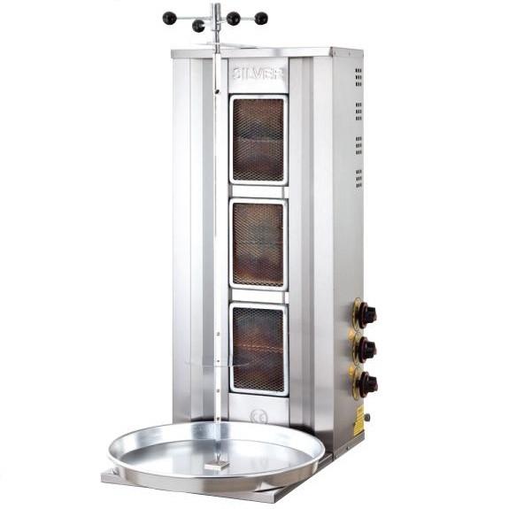 Аппарат для шаурмы газовый 2161 LPG  - SILVER