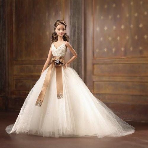 Колекційна лялька Барбі Monique Lhuillier Bride Barbie Doll