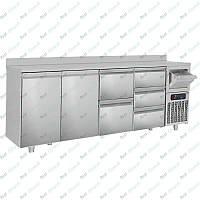 Стол холодильный барный GGM Gastro BGKF266A#SBGKF1213