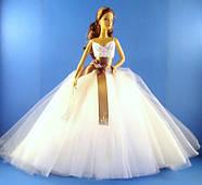 Колекційна лялька Барбі Monique Lhuillier Bride Barbie Doll, фото 4