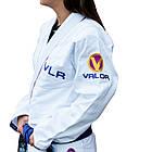 Жіноче кімоно для бразильського Джиу Джитсу Valor VLR Superlight White, фото 2