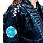 Женское кимоно для бразильского Джиу Джитсу Valor VLR Superlight Black, фото 2