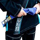 Женское кимоно для бразильского Джиу Джитсу Valor VLR Superlight Black, фото 3