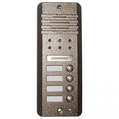 Commax DRC-4DC brown блок вызова на 4 абонента