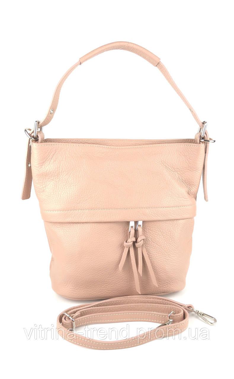 42e666ffd5f6 Модная женская сумка на плечо (хобо) натуральная кожа Италия - VITRINA в  Киеве