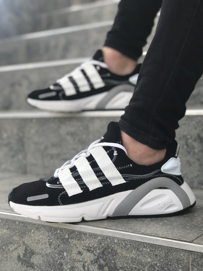 99997efbe457a Кроссовки в стиле Adidas Yeezy Boost 600 Black   Grey   White мужские
