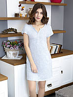 Жіноче домашнє плаття Роксана XL блакитний