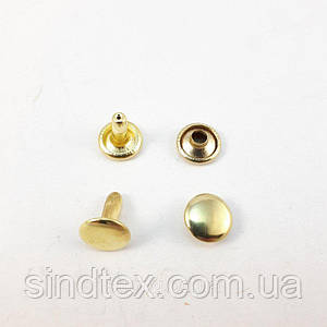 Холитен 6х6 Золото (2000шт.) двухсторонний
