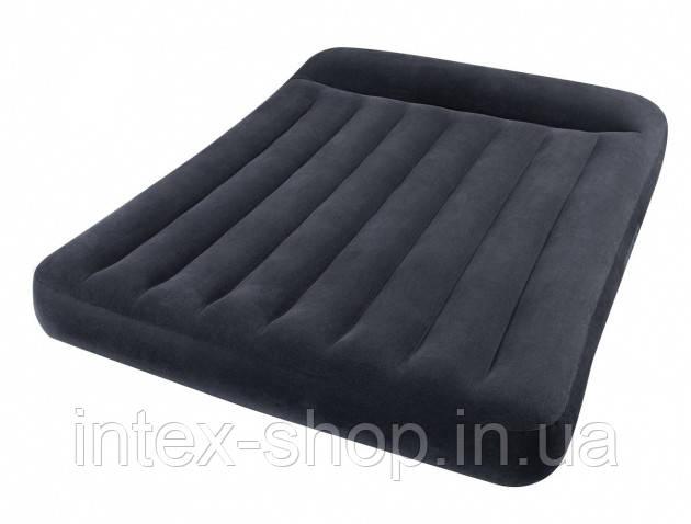 Надувной матрас Pillow Rest Classic Intex 66768 (137x191x30см)