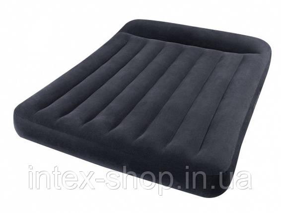 Надувной матрас Pillow Rest Classic Intex 66768 (137x191x30см), фото 2