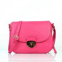 Женская розовая сумка Prada