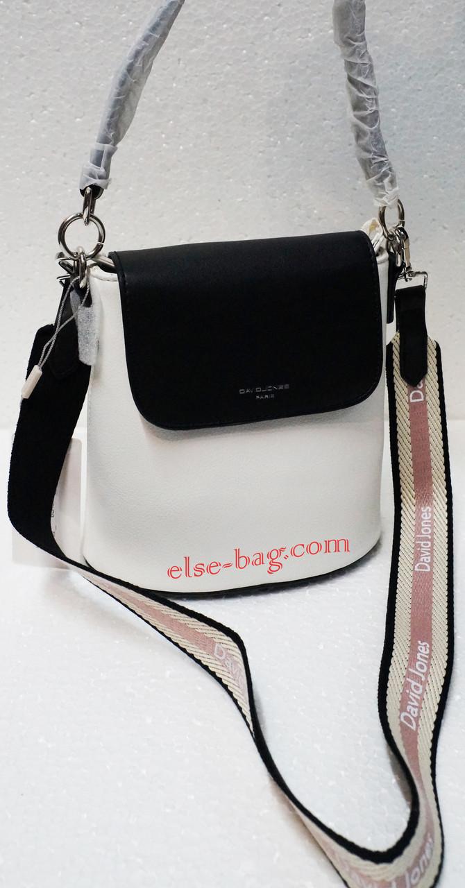 9a0b3f01d4ed Маленькая сумка бочонок через плечо David Jons: продажа, цена в ...