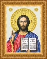 Схема для вышивки бисером Иисус Христос Венчальный