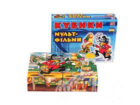 """Пластмасові Кубики """"Мультфільми"""" 0144 Технокомп"""