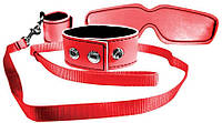 Комплект для связывания S&M Red Bondage Kit T-T830179