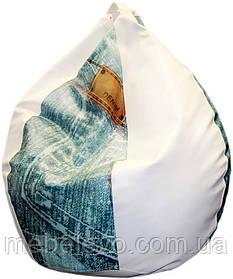 Bubble кресло-груша Джинс H-100    ТМ Матролюкс