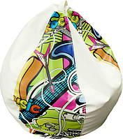 Bubble кресло-груша Графити H-100    ТМ Матролюкс