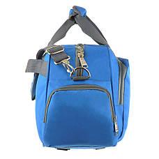 Дорожная сумка TONGSH голубая 48x28x20 полиэстер  кс99218гол, фото 3