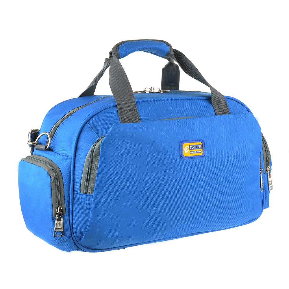 Дорожная сумка TONGSH голубая 48x28x20 полиэстер  кс99218гол