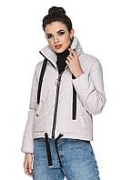 Женская куртка весна-осень от производителя цвет пудра, фото 1