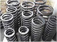 Пружины сжатия для шахтных электровозов - Любые размеры и количества