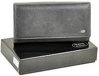 1e3f8de6250d Женский кожаный кошелек Dr.Bond на магнитах с визитницей натуральная кожа
